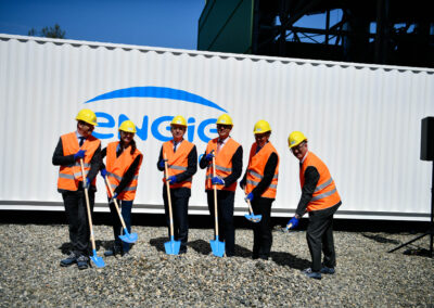 ENGIE's Chairman Jean-Pierre Clamadieu seals the first ENGIE Eps' energy storage project coupled with a gas power plant